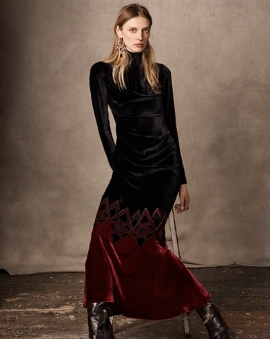 Reiley Velvet Dress