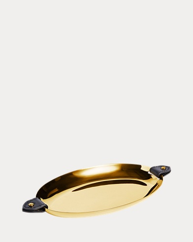 Wyatt Golden Nesting Tray Set