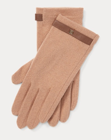 Wool-Blend Tech Gloves