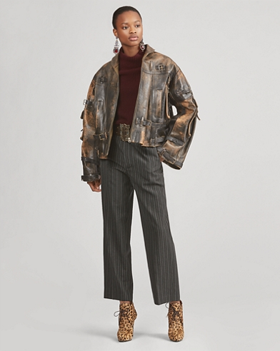 Jaxton Leather Coat