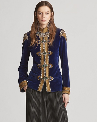 Barrick Embroidered Jacket