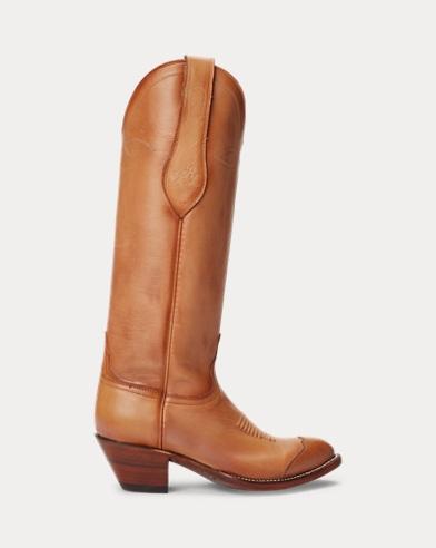 Bottes de cowboy Kiera en cuir