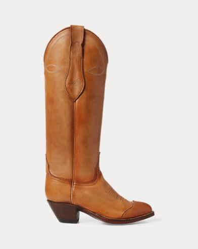 Kiera Leather Cowboy Boot