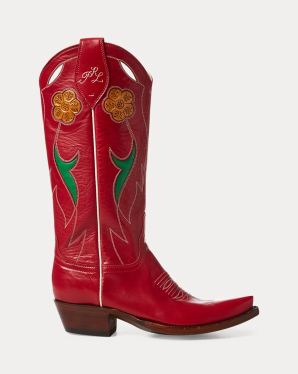 Selene Leather Cowboy Boot