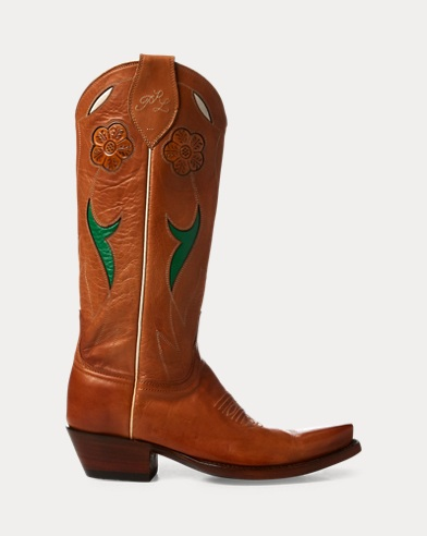 Selene Leather Cowboy Boot