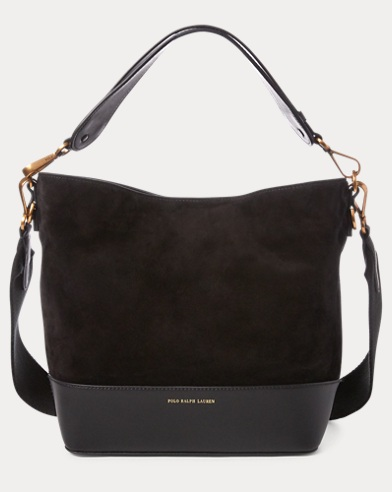 Suede Small Hobo Bag
