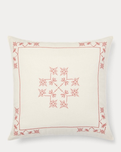 Marley Embroidery Throw Pillow