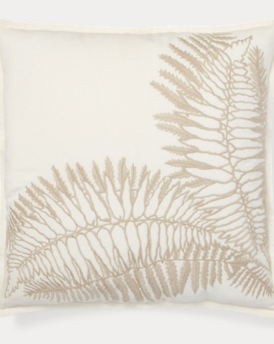 Hadley Embroidery Throw Pillow