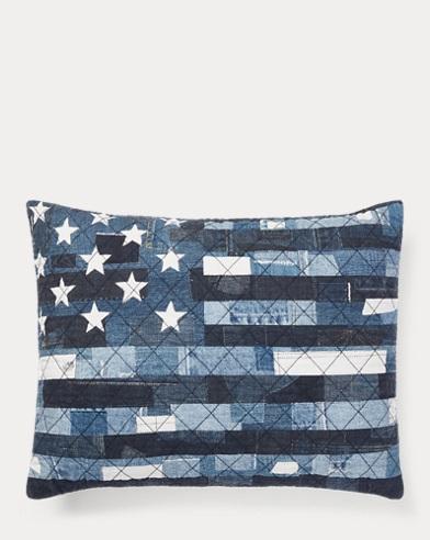 Kyle Flag Throw Pillow