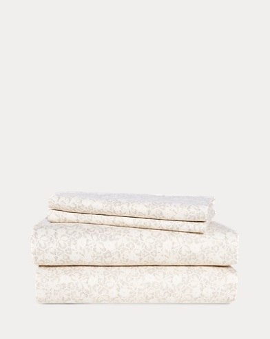 Allaire Floral Sheet Set