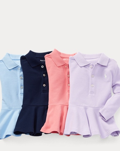 Peplum Polo 4-Piece Gift Set