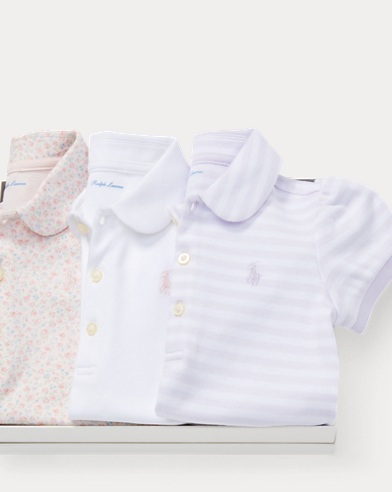 Cotton Polo 3-Piece Gift Set