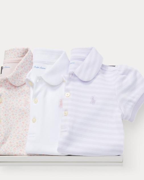 da4af248f6 Cotton Polo 3-Piece Gift Set