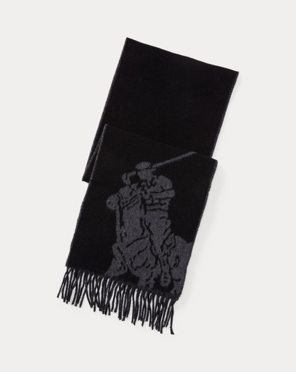 Big Pony Jacquard Scarf