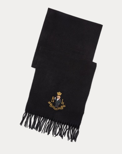 Polo Bear Cashmere-Blend Scarf