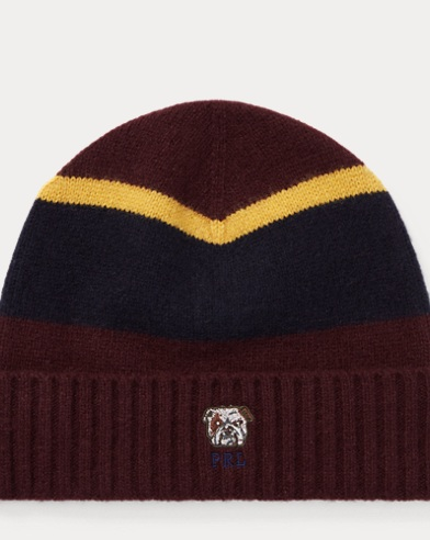 Bulldog Knit Wool Hat