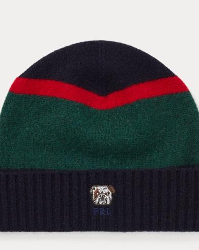 Bulldog Knit Wool Hat