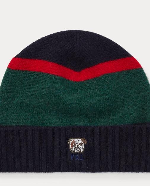 11546e0180612 Polo Ralph Lauren Bulldog Knit Wool Hat 1
