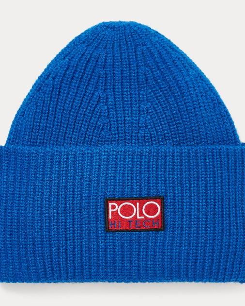 5ece7577aed Polo Ralph Lauren Hi Tech Knit Beanie 1