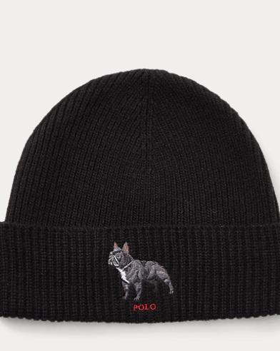 Bulldog Knit Hat