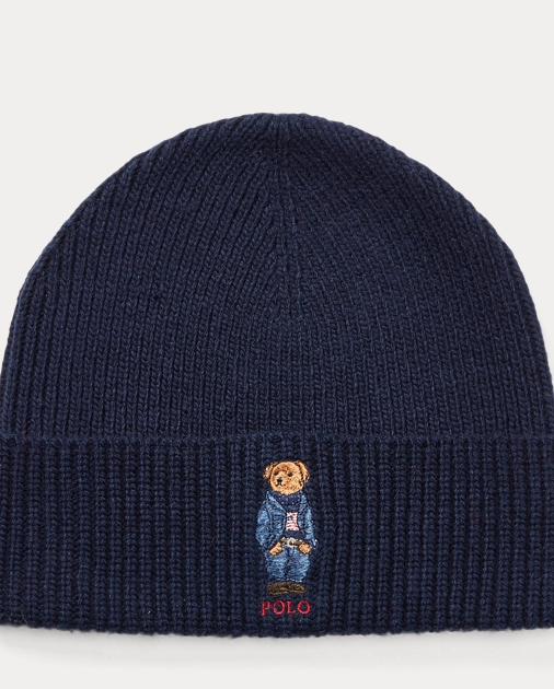 cd73e3cf1e2 Polo Ralph Lauren Polo Bear Knit Hat 1
