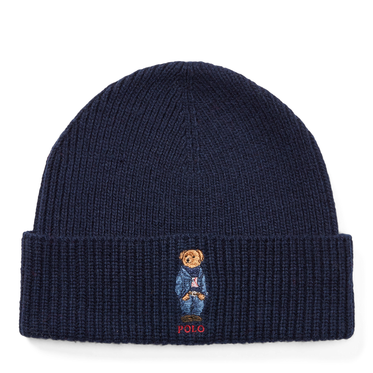 68a9e7387 Polo Bear Knit Hat