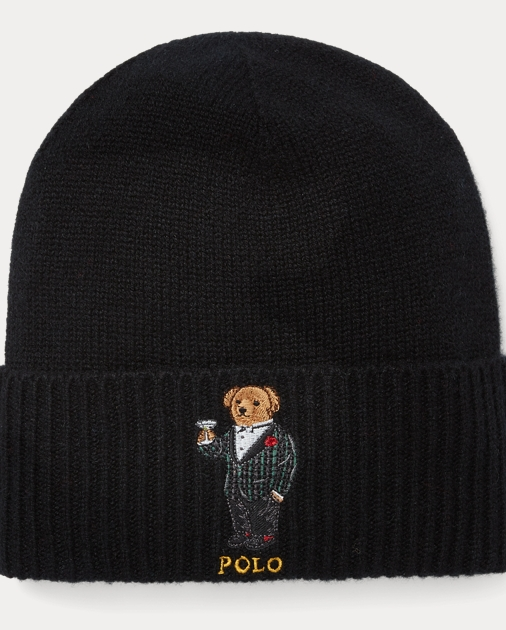 Polo Ralph Lauren Cashmere-Wool Polo Bear Hat 1 9e7e025f8c2