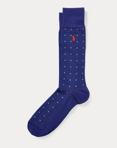Dot Mercerized Socks