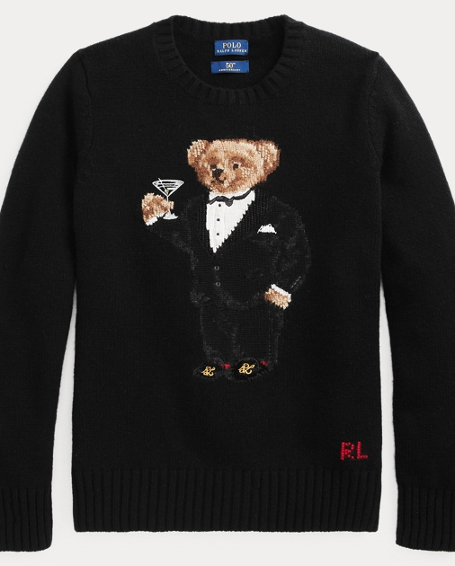 Bear Martini Sweater Bear Wool Martini Martini Bear Wool Bear Martini Sweater Sweater Wool PkwO0n