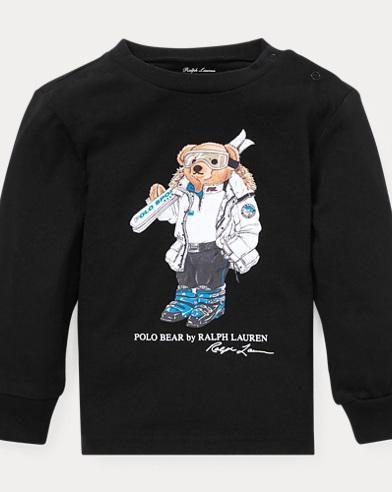 Ski Bear Cotton Jersey T-Shirt