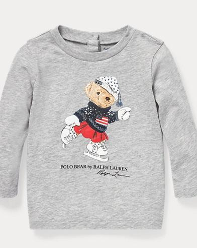 Ice-Skating Bear T-Shirt