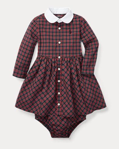 Tartan Shirtdress & Bloomer