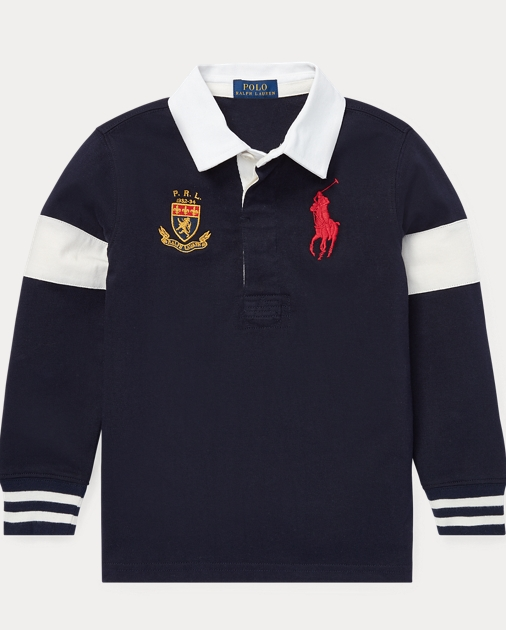a6267eaa176e Boys 2-7 Big Pony Cotton Jersey Rugby 1