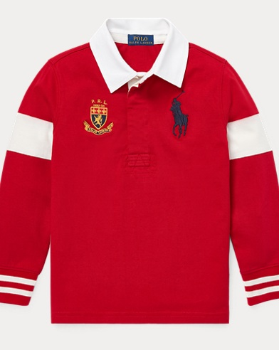Big Pony Cotton Jersey Rugby
