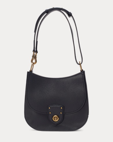 Pebbled Leather Cross-body Bag