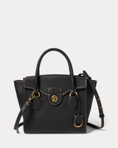 Pebbled Leather Satchel