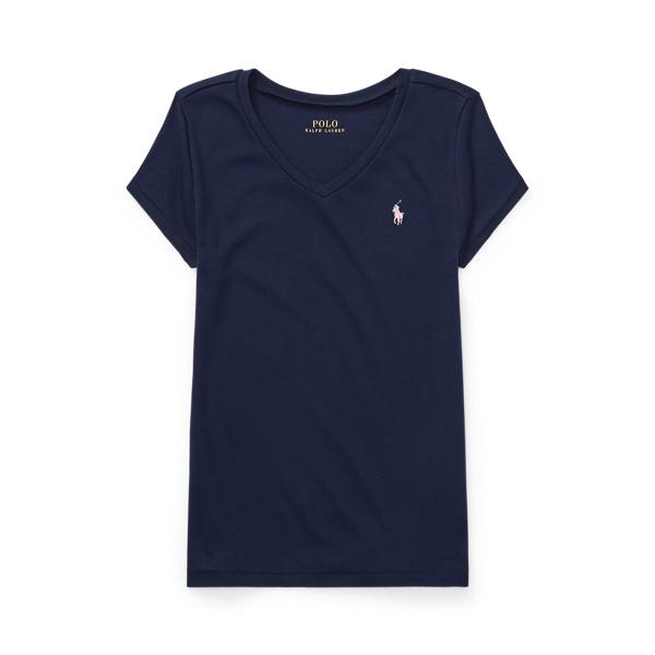 폴로 랄프로렌 Polo Ralph Lauren Jersey V Neck T Shirt,French Navy