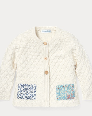 Patchwork Cotton Cardigan