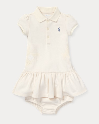 Flag Polo Dress & Bloomer