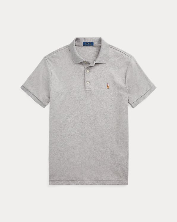 Polo de tacto suave Slim Fit