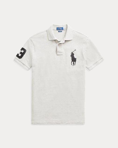 Polo Fit Shirt Slim Mesh PkZXiu