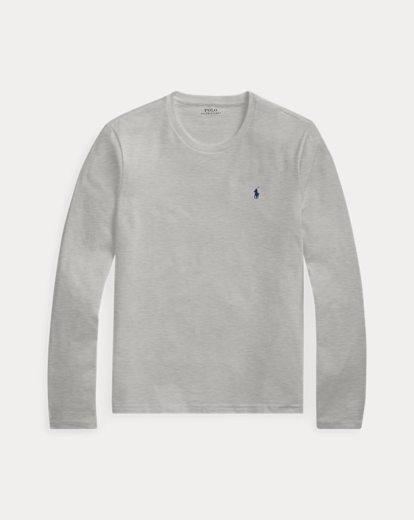 Cotton Jersey Crewneck Shirt