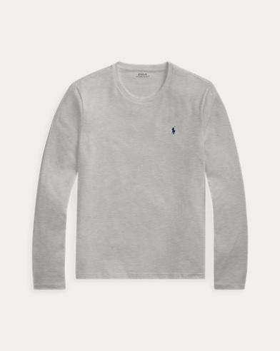 Maglia a girocollo in jersey di cotone