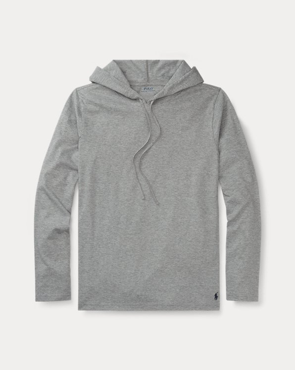 Cotton-Blend Sleep Hoodie