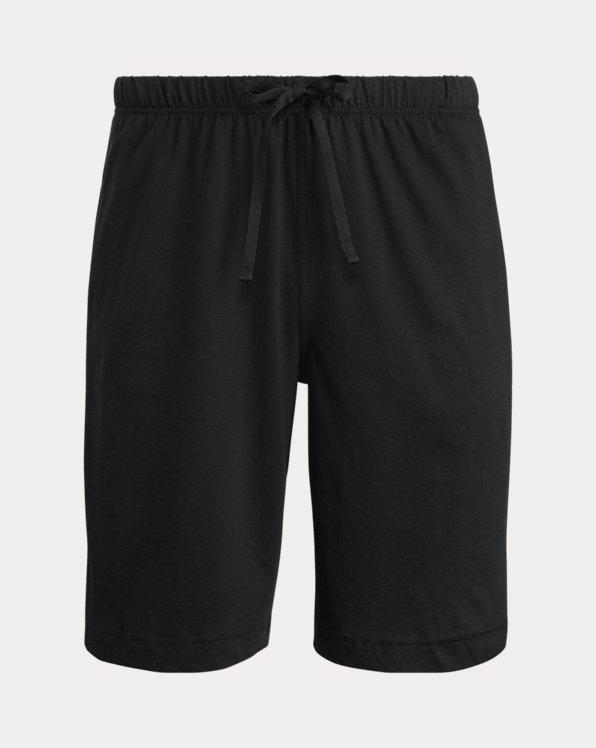 Pantalón corto de pijama de punto jersey de algodón