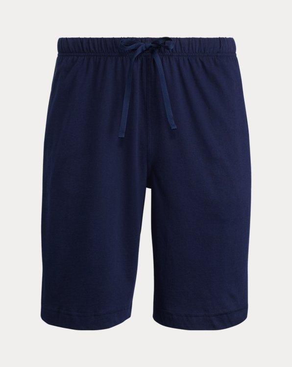 Cotton Jersey Sleep Shorts