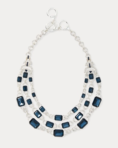 Bead Link Collar Necklace