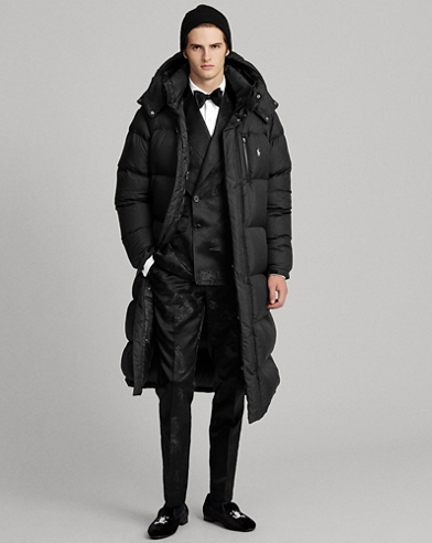 Hooded Ripstop Down Coat