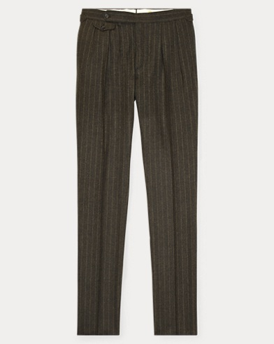 Striped Wool Suit Trouser