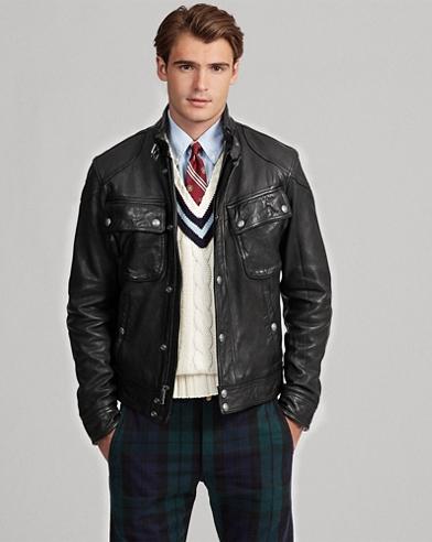 ef4482315314 Leather Biker Jacket